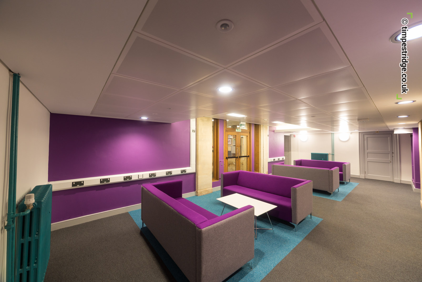 Atkins interior design at University of Exeter