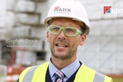 Project Manager Stephen Brook