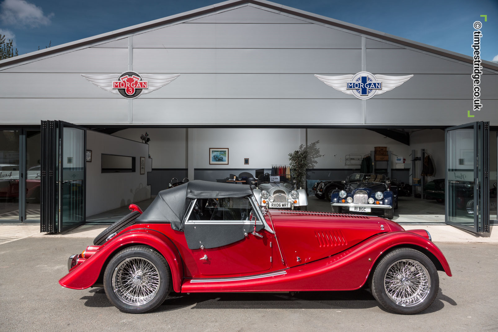 Berrybrook Morgan classic car photo shoot